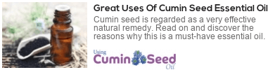 cumin seed oil for the body