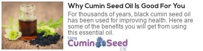 cumin seed oil uses